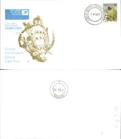 (South Africa) SAA B727,  F/F Durban-George, official souvenir cover, b/s, recent but uncommon.