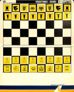 (Ephemera) British Caledonian, complementary pocket chess set in original condition with instructions, 15x10cm.