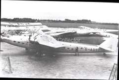 (Ephemera) Armstrong Whitworth 'Ettrick', reg 3/10/35, Imperial AW, based at Croydon, operating the European and African routes. B&W photograph from an original negative clearly showing the plane's name and registration number, 10x15cm. Watermark for display only.