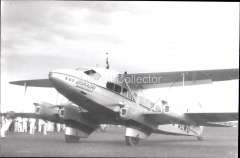 (Ephemera) Imperial Airways 'Dorado', Imperial AW operating the Hong Kong-Penang service, c1933. B&W photograph from an original negative clearly showing the plane's name, 10x15cm. Watermark for display only.