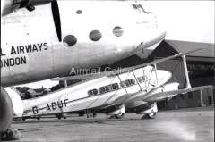 (Ephemera) Imperial Airways DH.86B Dragon Express Dorado', operating the Australia - Far Eastern service, c1937. B&W photograph from an original negative clearly showing the plane's registration number, 10x15cm. Watermark for display only.