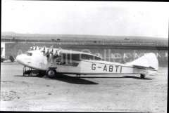 (Ephemera) Armstrong Whitworth Atlanta 'Arethusa G-ABTI, Imperial AW operating the South Africa - Kisumu route. B&W photograph c1933 from an original negative clearly showing the plane's registration number, 10x15cm. Watermark for display only.