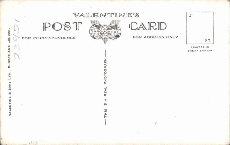 (Ephemera) The Mayo Composite Plane, an original unused 'Valentines' B&W photocard showing individual pictures of  'Maia' and 'Mercury', and one picture of them conjoined. Fine.