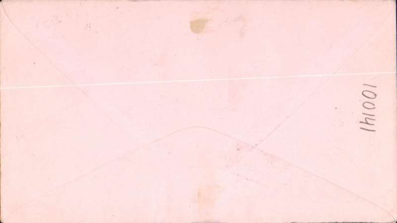 (St Lucia) FAM 6 F/F St Lucia to Miami, no arrival ds, airmail etiquette cover franked 1/4d, canc black circular 'Castries/1st Air Mail/St Lucia' cachet, also Castries 25 SP 1929 cds, fine strike purple winged 'Via Air Mail' hs.