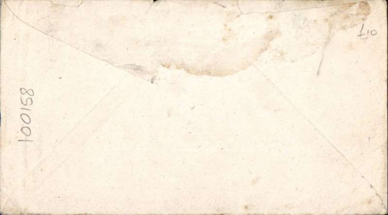 """(WW II APO) World War II censored cover flown from Aitape, New Guinea (APO 25) to US, 6c PSE, canc """"US Army Postal Service/7 BPO """" , signed and """"Passed by Army Examiner/29477"""" hs. Around this time"""