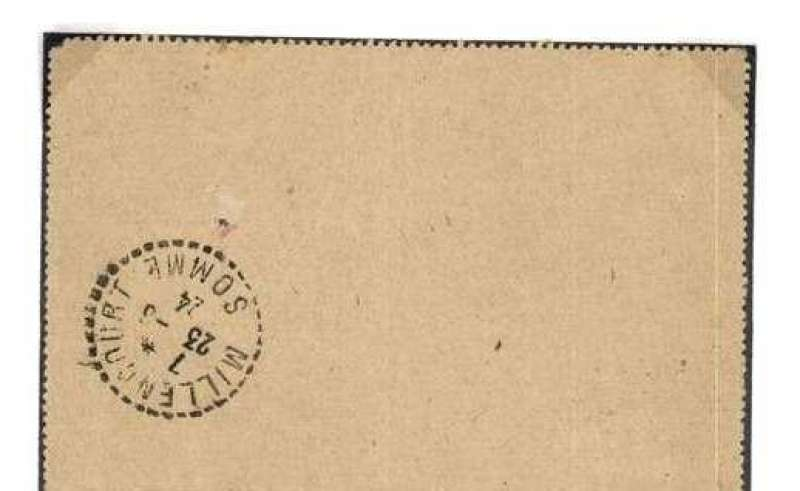 (Algeria) Aeropostale, Oran to Paris, bs 23/8, PSC franked franked 25c postage and 50c airmail surcharge, framed 'Poste Aerienne' hs.