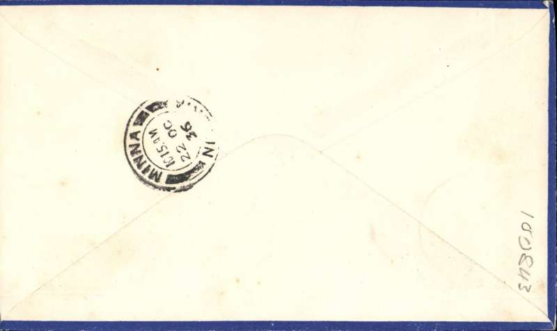 (Nigeria) West African Feeder Service , F/F Kano-Minna, bs, attractive Philatelic magazine cover, Imperial Airways.