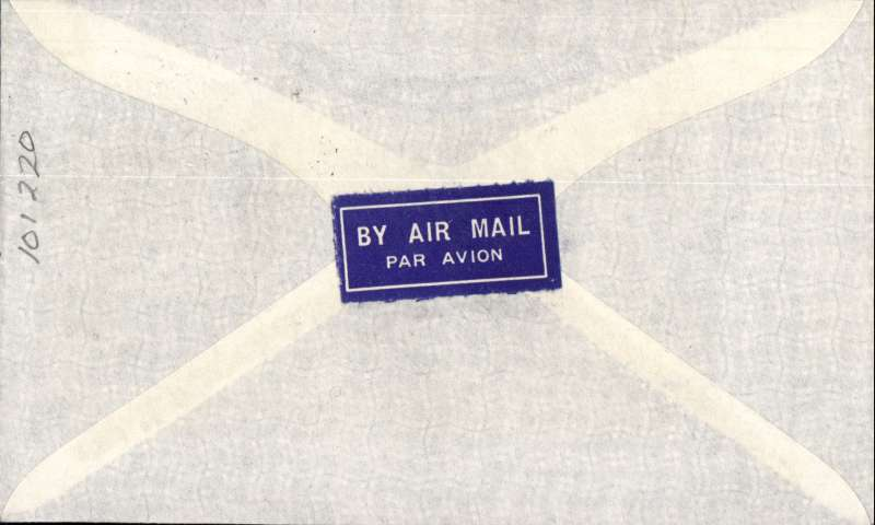 (Australia) 'LATE FEE' Sydney to London, no arrival ds, airmail etiquette cover franked 1/6d and 1d to include LATE FEE, canc 'Air Mail/Sydney cds, ms 'Late Fee', typed 'Air Mail 2/4/35.
