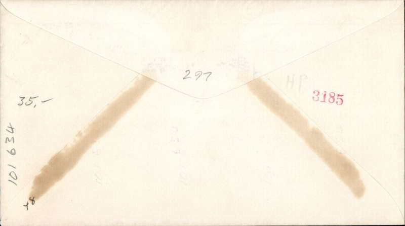 "(Airship) USS Macon (ZR5), ms  'USS Macon ""Passed"", canc Naranja, FL, signed by PM."