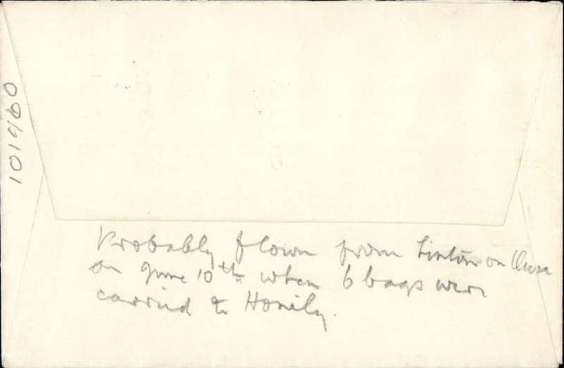 (GB Internal) Railway Strike Mail, cover fown fom Linton on Ouse to Northolt to Honiley, no arrival ds, plain cover franked 2 1/2d canc Ilkley/9 Jne 1955/ Yorkshire'.Rarely seen, ex Stratton.