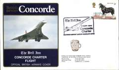 (Concorde) Concorde, The Bell Inn Charter Flight, bs.