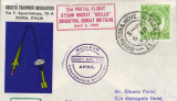 (GB Internal) First International Conference of the Institute of Nuclear Engineers, cover carried in the rocket 'Grillo' bearing bearing various cachets postmarked Brighton 6th April 1965.
