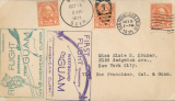 (United States) Pan American survey flight, San Francisco to Guam and return, East and West bound cachets, all appropriate departure and arrival postmarks, scarce round trip.