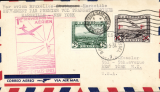 (Belgium) Belgium acceptance for Pan American F/F Marseille, bs 24/5 to New York, bs 27/5, airmail cover franked 7F (4F verso), fine strike red flight cachet . image.