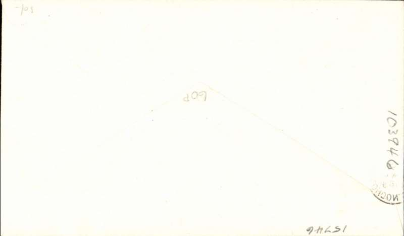 (Ireland) First day BEA 8d crest in shield label, official cover flown Belfast-London, franked QEII 2 1/2d, 8d label tied by BEA Belfast dated depart cachet, posted on arrival in London.