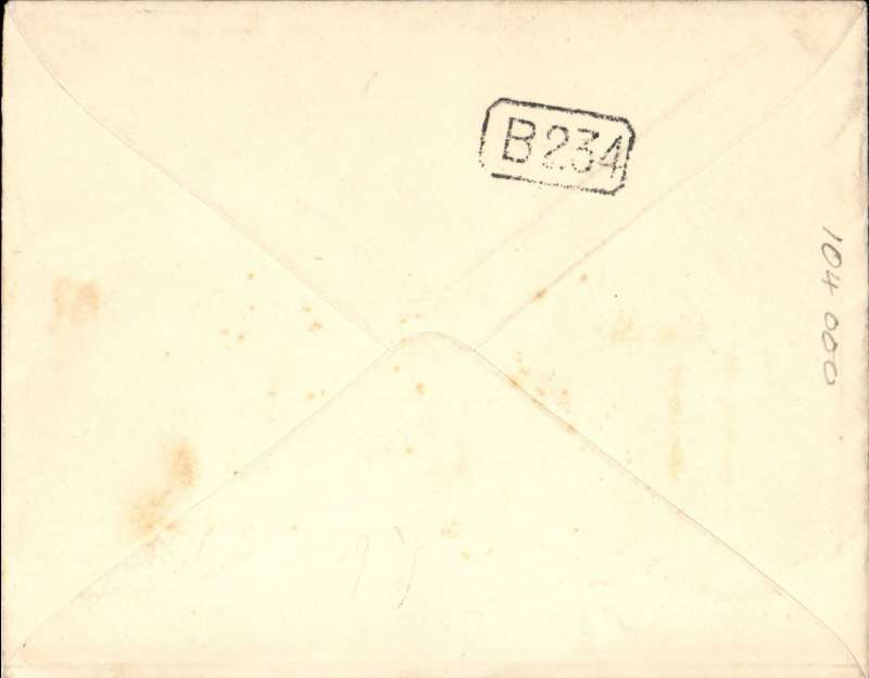 (GB External) Early airmail, London to Holland,  correctly rated 1 1/2d PSE with additional 1 1/2d adhesive, canc South Kensington cds, green blue/black P25 airmail etiquette.