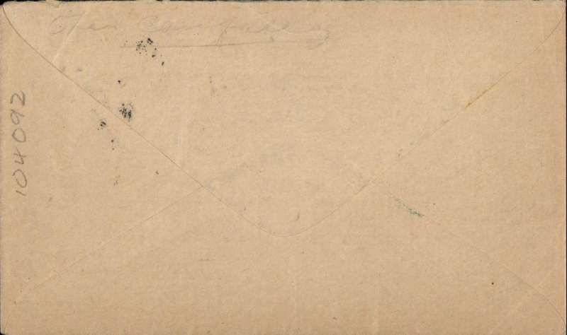 (GB Internal) Orcadian envelope Type 1 'First Air Mail From/the Orkney Islands' advertising envelope produced by the Orcadian Newspaper flown on the Highland Airways first flight from Kirkwall to Inverness, franked 1 1/2d, fine strike Kirkwall/11.15am/29 MY/1934.