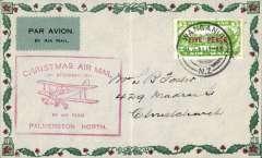 (New Zealand) Wellington-Auckland flight, Wanganui-Christchurch, bs, cachet, Francis Field authentication hs verso, ironed vertical crease, see scan..
