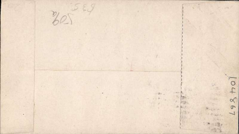 (Canada) F/F Kississing to Cranberry Portage, airmail cover franked 2c.