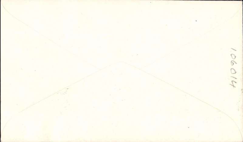 """(GB Internal) London to Southampton, official cover franked FDI BEA 9d, cachet """"Increase in Airway Letter Rate/ 1 Sept 1954"""", POA, BEA, carried by helicopter.."""
