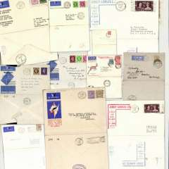 (Selections) Great Britain, eleven airmail and first flight covers, 1931-39.