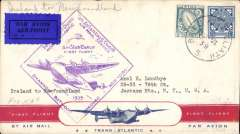 (Selections) Pan American Airways collection of 48 FAM flights from 1935-49  with Asian, Australian, GB, Malayan, Hong Kong, New Zealand, European  origins and destinations,  1935 (3), 1937 (5), 1938 (1), 1939 (20), 1941 (4), 1946 (8), 1947 (7), 1949 (3), good to fine. All covers are scanned on the website.
