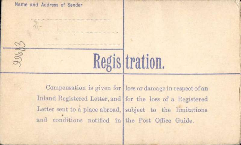 (GB Internal) Allied Airways (Gandar Dower) Ltd, F/F Aberdeen to Lerwick, oval registered '23 No 37 ' receiver on front, 4 1/2d postal stationery registered, canc  'Registered Aberdeen 23 Nov 37 cds, signed by pilot, Capt. EG Starling above red two line 'Chief Pilot/Allied Airways (Gandar Dower) Ltd.